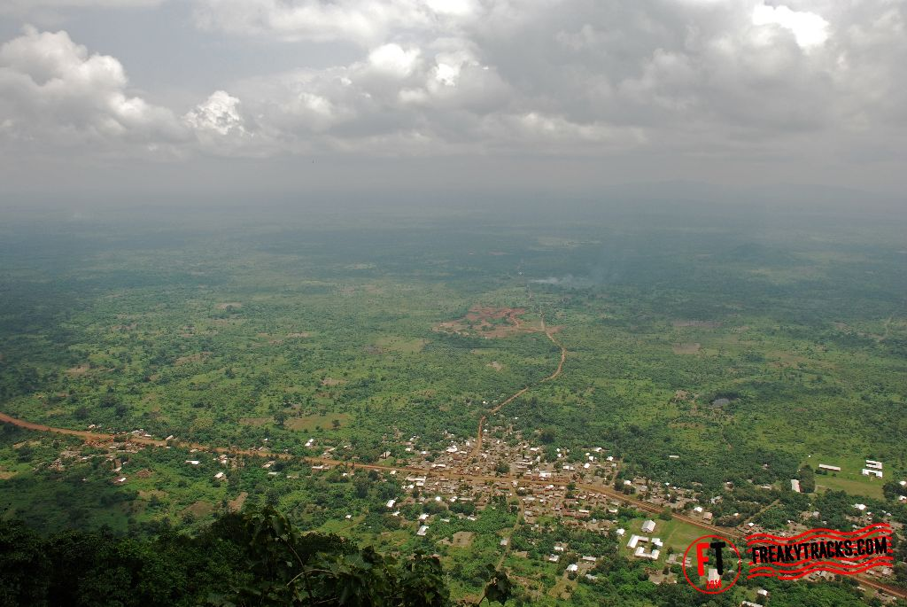 Mt Adlaku, view from the top