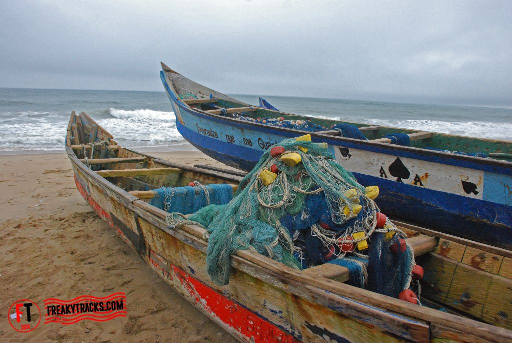 Fishermen boats, Cape Coast